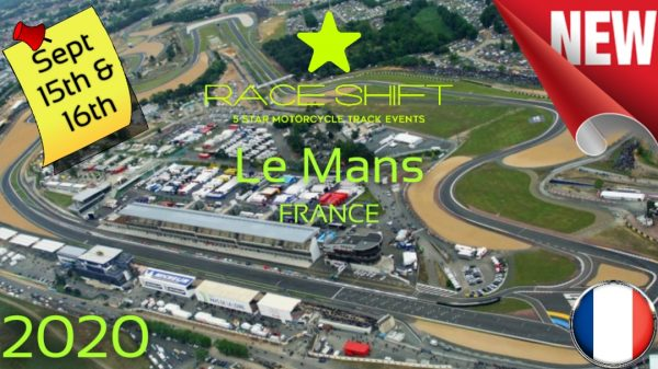 Race Shift European Trackday France - Circuit Bugatti Le Mans 1