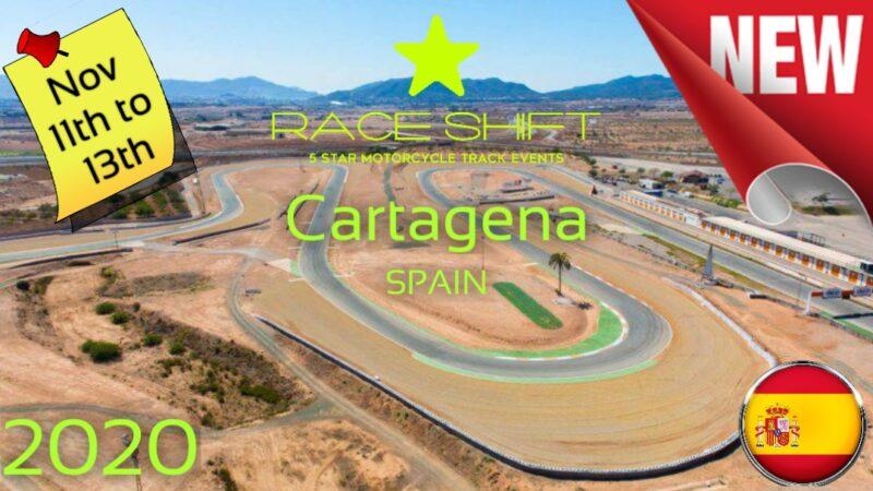 Race Shift European Trackday Spain - Circuito Cartagena main 1