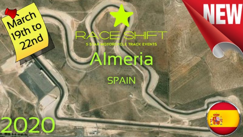 Race Shift - European Trackday Event Circuit Almeria Spain 1
