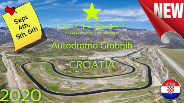 Race Shift European Trackday Autodromo Grobnik Rijeka Croatia 1