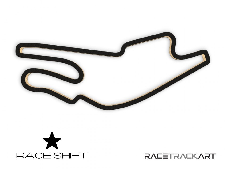 Circuit Bugatti Le Mans 3d Race Track Art Race Shift