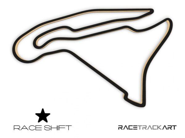 Race Shift Circuit de Nevers Magny Cours France 3D Track Art