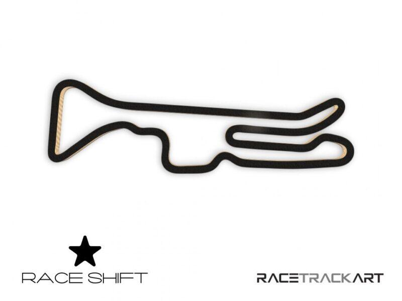 Circuit de Calafat 3D Race Track Art