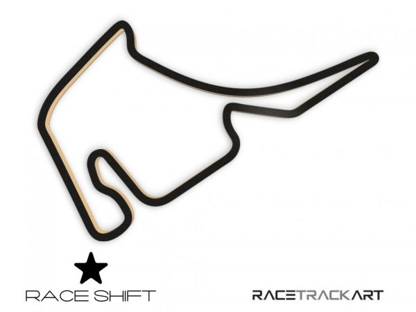 Race Shift Circuit Hockenheimring 3D Track Art